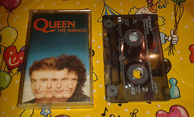 Queen Musik Kassette MC The Miracle - EMI music tape 1989