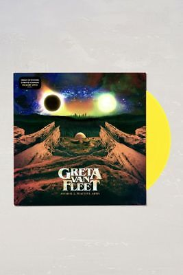 2018 Greta Van Fleet Anthem Of The Peaceful Army Limited Yellow Vinyl LP UO NEW