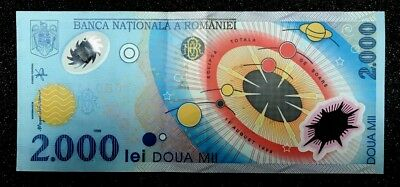 Romanian New Lei 2 Currency Note