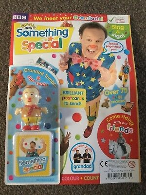 CBeebies Something Special Magazine Issue 31 grandad tumble & sign cards