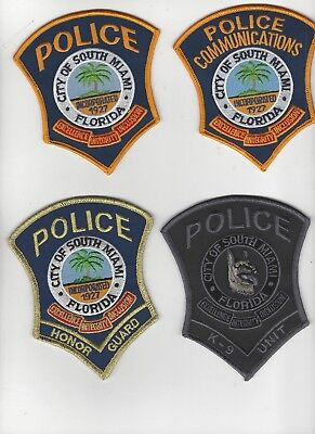 South Miami Police Special Units Set of 4 (RESTRICTED SALE)