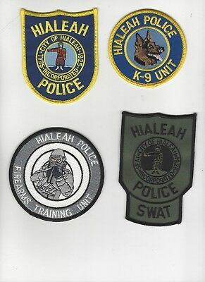 Hialeah Police Special Units Set of 4 (RESTRICTED SALE)