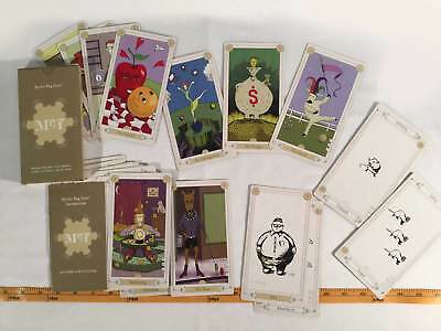 Mystic Pug Tarot Deck Collectible Complete 30 Cards With Instructions Game 2004