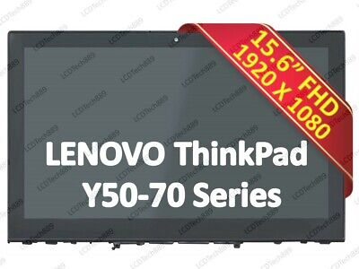 """LENOVO Y50-70 20349 Touch Screen Assembly for 15.6/"""" FHD LED LCD Display W// Frame"""
