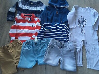 Baby Boys Winter Clothing Bundle Age 12-18 Months.