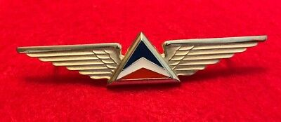 Delta Air Lines Second Officer Pilot Wings 4th Issue Badge Airline Crew