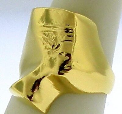 Egyptian Ring /Neferiti, Ancient Egyptian Queen - Gold or Silver Tone NEW PRINCE