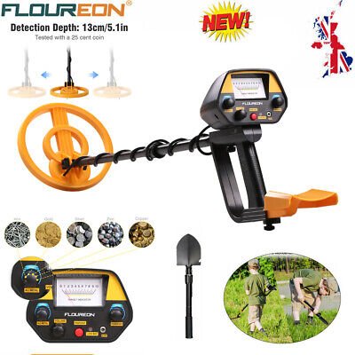 Adjustable All Metal Detector Finder Waterproof Search Coil with Foldable Shovel