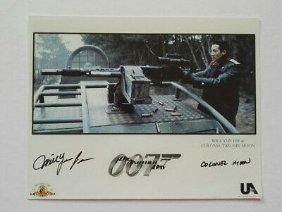 Will Yun Lee signed Autogramm in Person 20x25cm COA James Bond 007