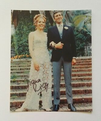 Diana Rigg signed Autogramm in Person 20x25 COA James Bond  007 Game Of Thrones