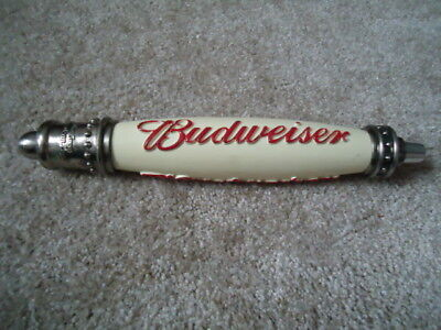 Lg Budweiser Beer Tap Handle Man Cave Huge Sale Read Description
