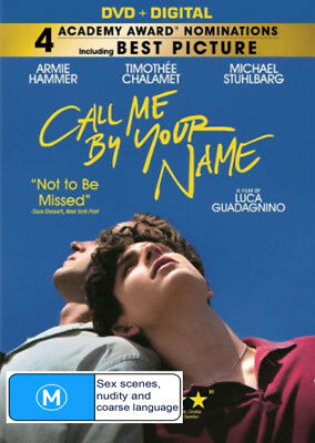 Call Me By Your Name (DVD) Brand New
