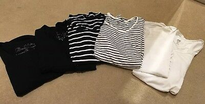 6 Maternity T Shirts From M&SAnd H&M All Size S