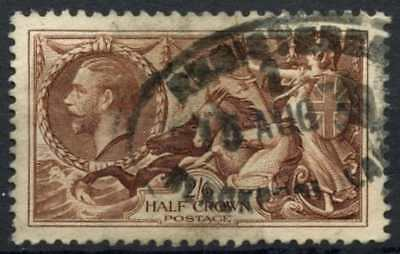 GB KGV1934 SG#450, 2s6d Chocolate, Brown Seahorse Used #D79446