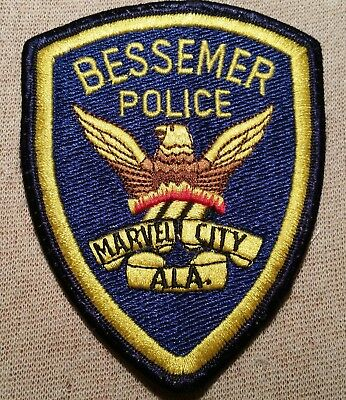 AL Bessemer Alabama Police Patch