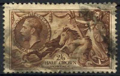 GB KGV 1934 SG#450, 2s6d Chocolate, Brown Seahorse Used #D79457