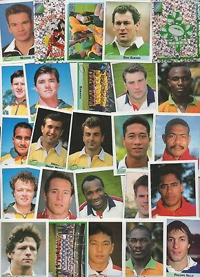 Rugby World Cup 1995 Merlin Stickers 25 different stickers lot 3