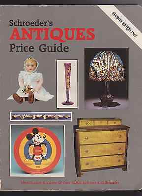 Schroeder's Antiques Pride Guide 7th Edition 1989 (R1217)
