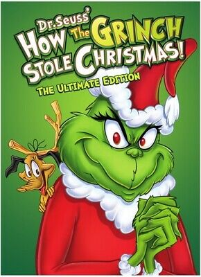 Dr. Seuss: How The Grinch Stole Christmas [New DVD] Ultimate Ed, Amaray Case,