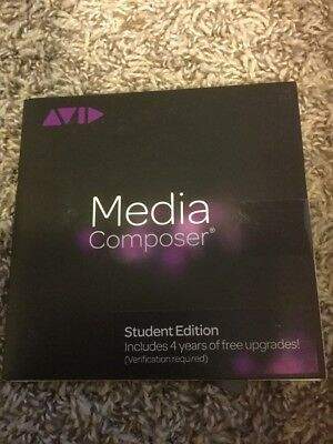 Avid Media Composer 6.5 Student Edition 4 Years Of Free Upgrades NEW
