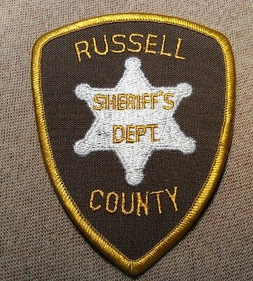 AL Russell County Alabama Sheriff Patch