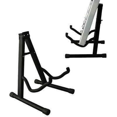 1x Guitar Stands Heavy Duty A Frame Stand Fits Acoustic Electric Bass Guitars