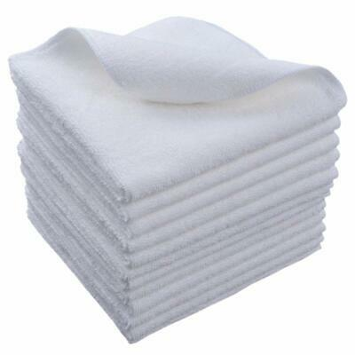 """Home Microfiber Glasses Cleaning Cloths Kitchen Wash Cloth Lot 12""""x12"""" 12 Pack"""