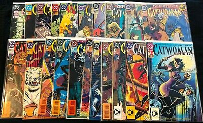DC Catwoman Vol 2 from #1-21 Lot of 21 VF+ to M Free Shipping!