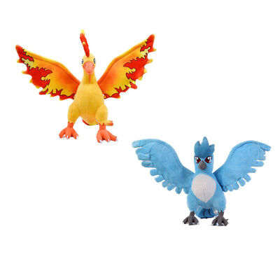 Pokemon Articuno Moltres 11inch Best Gifts Anime Cartoon Dolls Plush Doll Figure
