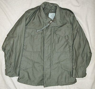 Excellent Post Vietnam US Army M65 Field Jacket, X-Small X-Short