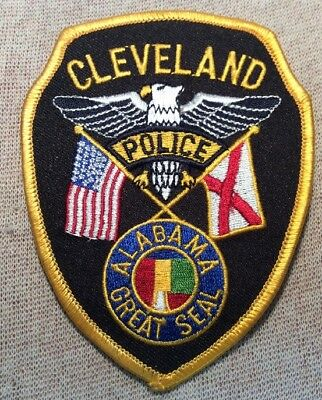 AL Cleveland Alabama Police Patch
