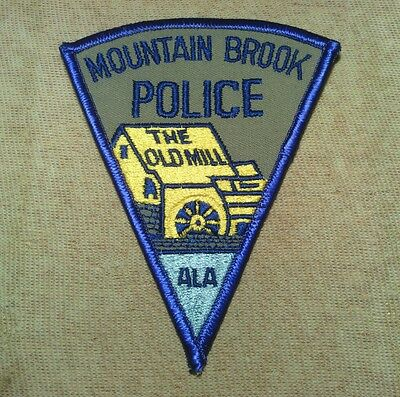 AL Mountain Brook Alabama Police Patch