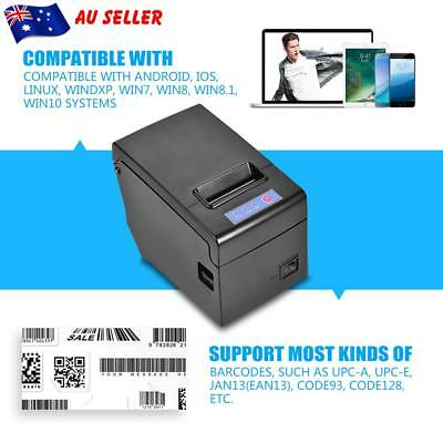 POS Thermal Receipt Printer 58mm Auto Cutter Serial Port/USB/Ethernet 130mm / s