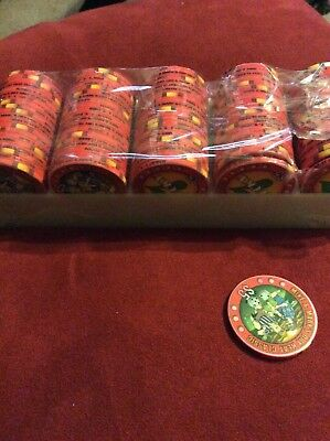 Printed Poker Chips, $5 Denomination, 100 Count