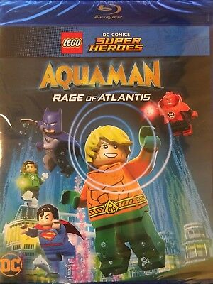 LEGO DC Super Heroes: Aquaman - Rage of Atlantis (Blu-ray+Digital), no Slipcover