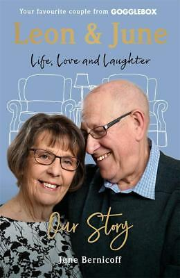 Gogglebox Leon June Our Story June Bernicoff Life Love Laughter Hard Cover Book