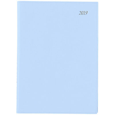 Diary 2019 Cumberland SOHO A4 Week to View Blue 47SSHBL inc Postage