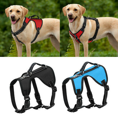 No Pull Dog Harness with Lift Handle Reflective Adjustable for Labrador S M L XL