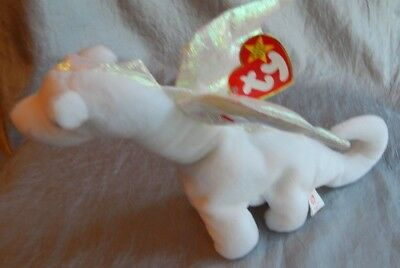 Ty Beanie Baby PVC Pellets Magic the Dragon 1995 #014