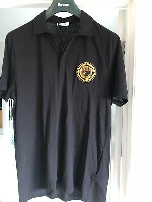 5812b07afa99 VERSACE COLLECTION T shirt polo resille homme taille S NEW NEUF ...