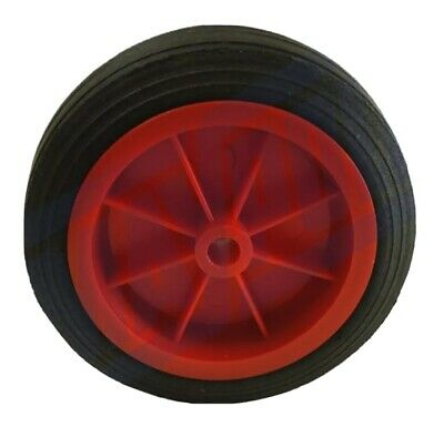 Replacement Jockey Wheel Red Plastic Fits Mp431 432 160Mm Genuine Maypole Mp430