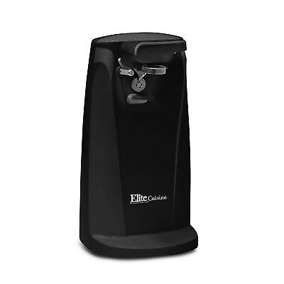 Tall Electric Can Opener Seniors Best Black Stainless Steel Tool Corded Kitchen