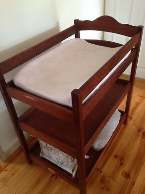 Baby Change Table Wooden