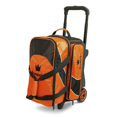 Brunswick Bowling Ball 2er Bag Edge Double Roller Orange New Shoes