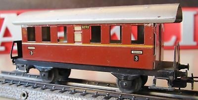 MÄRKLIN HO 327/2 Personenwagen braunrot /orange Open-Platform Car Marklin 800