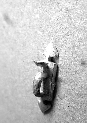 Thumb Latch 1.12 Scale White Metal Non Working Dolls House Miniature, 1.12 Scale