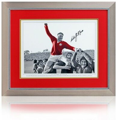 Willie John McBride hand signed 16x12'' British & Irish Lions photo