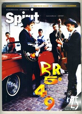 Southwest Airlines SPIRIT Magazine October 1996 BR5-49 Honky Tonk Cover