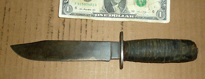 Vintage Kinfolks USA Army,Marine,WWII Fighting Commando Knife,Old Soldier Tool