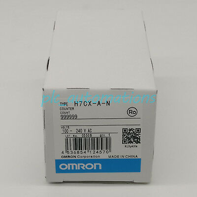 New In Box OMRON Counter H7CX-A-N H7CXAN 100-240VAC 1 year warranty